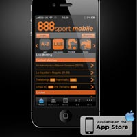 iPhone, iPad and iPod betting app for 888sport