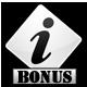 bonus info