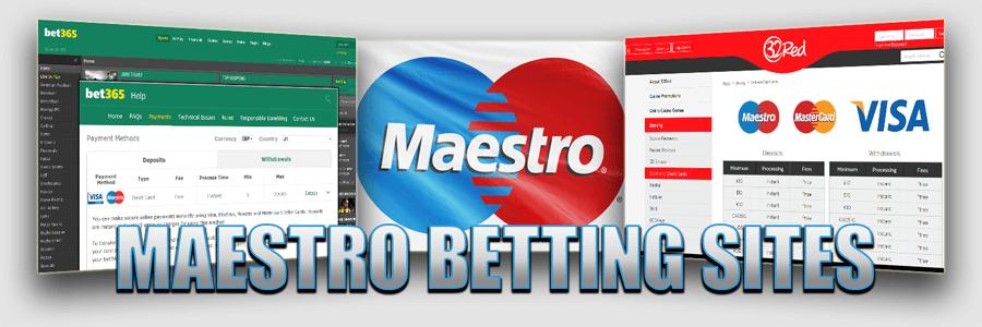Maestro card betting sites